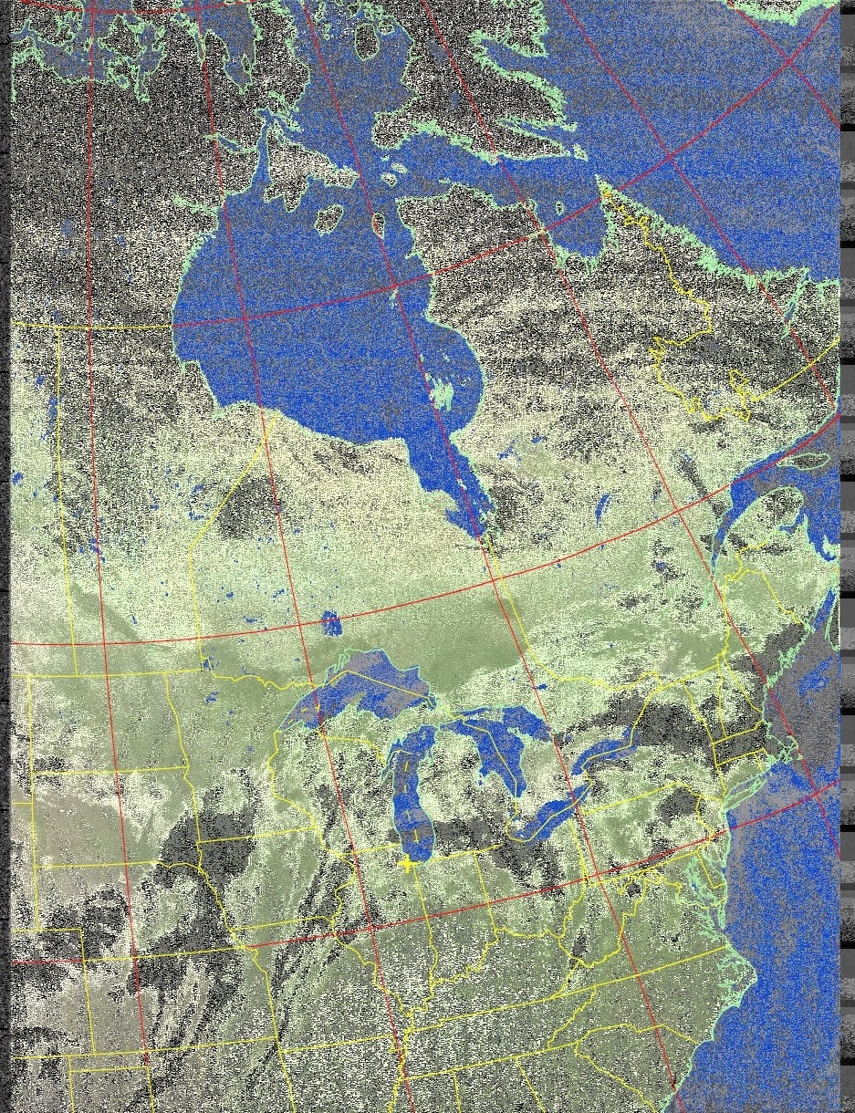 W8YY Receiving NOAA-19 Imagery